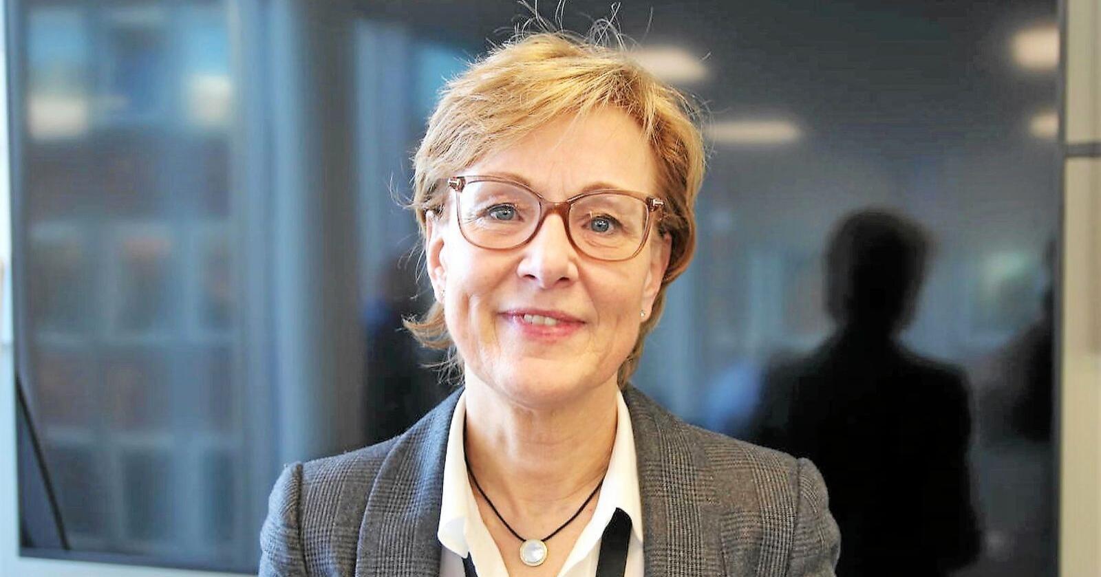 Generalsekretær Sigrid Hjørnegård i Norges Bondelag. Foto: Bondelaget