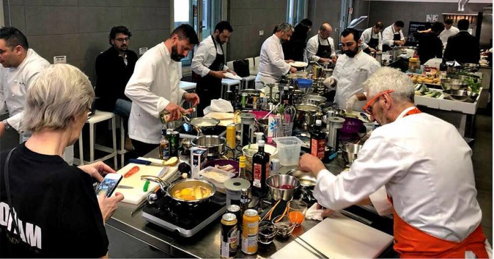 Lofotlam falt i smak hos mange kokker i Milano, og kjøttet skårer høyt på tester. (Foto: Innovasjon Norge)