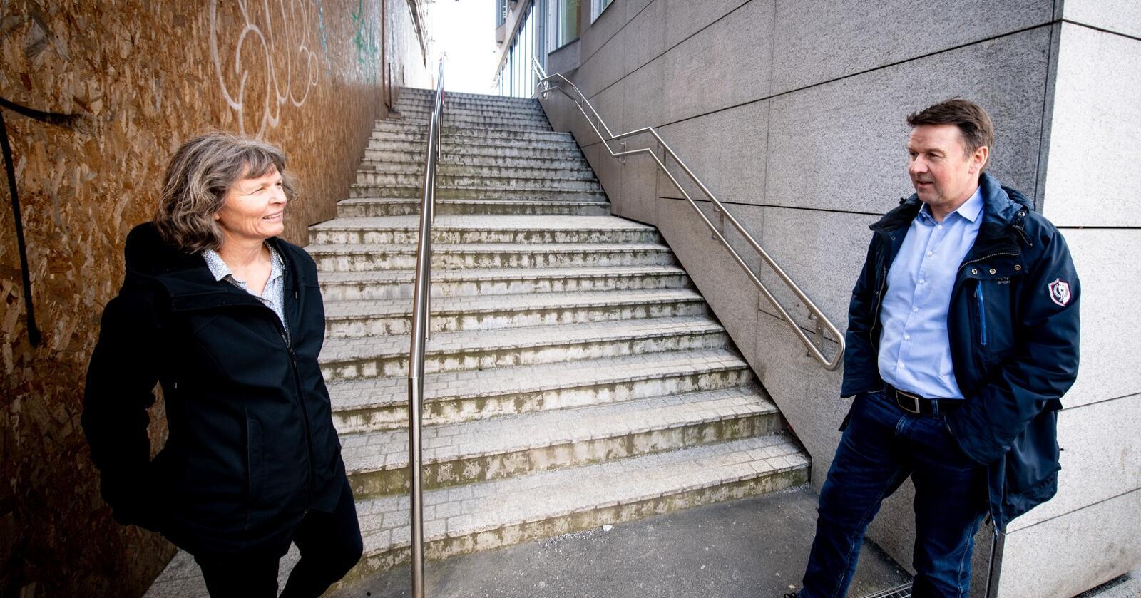 Påstander: Farer Småbrukarlagets fylkesledere med rykter i media, slik Kjersti Hoff og Lars Petter Bartnes sier? Og godtok Hoff budsjettramma til Bartnes? Foto: Vidar Sandnes