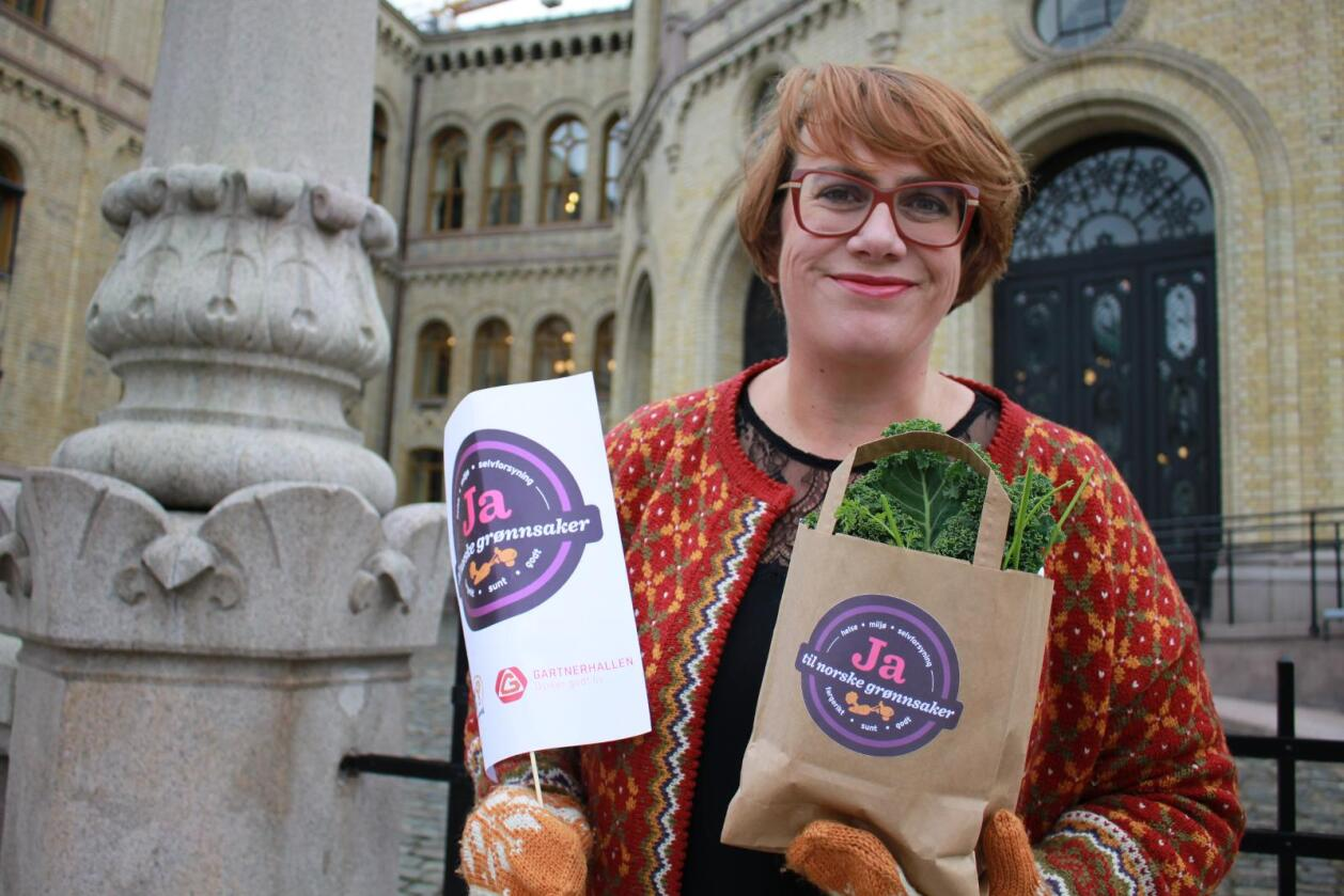 Nordmenn vil spise sunnere og er i økende grad opptatt av å spise norsk og kortreist mat. Et økt inntak av grønnsaker vil ikke bare være avgjørende for helsen, men er også bra for klima og matsikkerhet, mener Bygdekvinnelaget og leder Ellen Krageberg. (Foto: Cecilie Aurbakken)