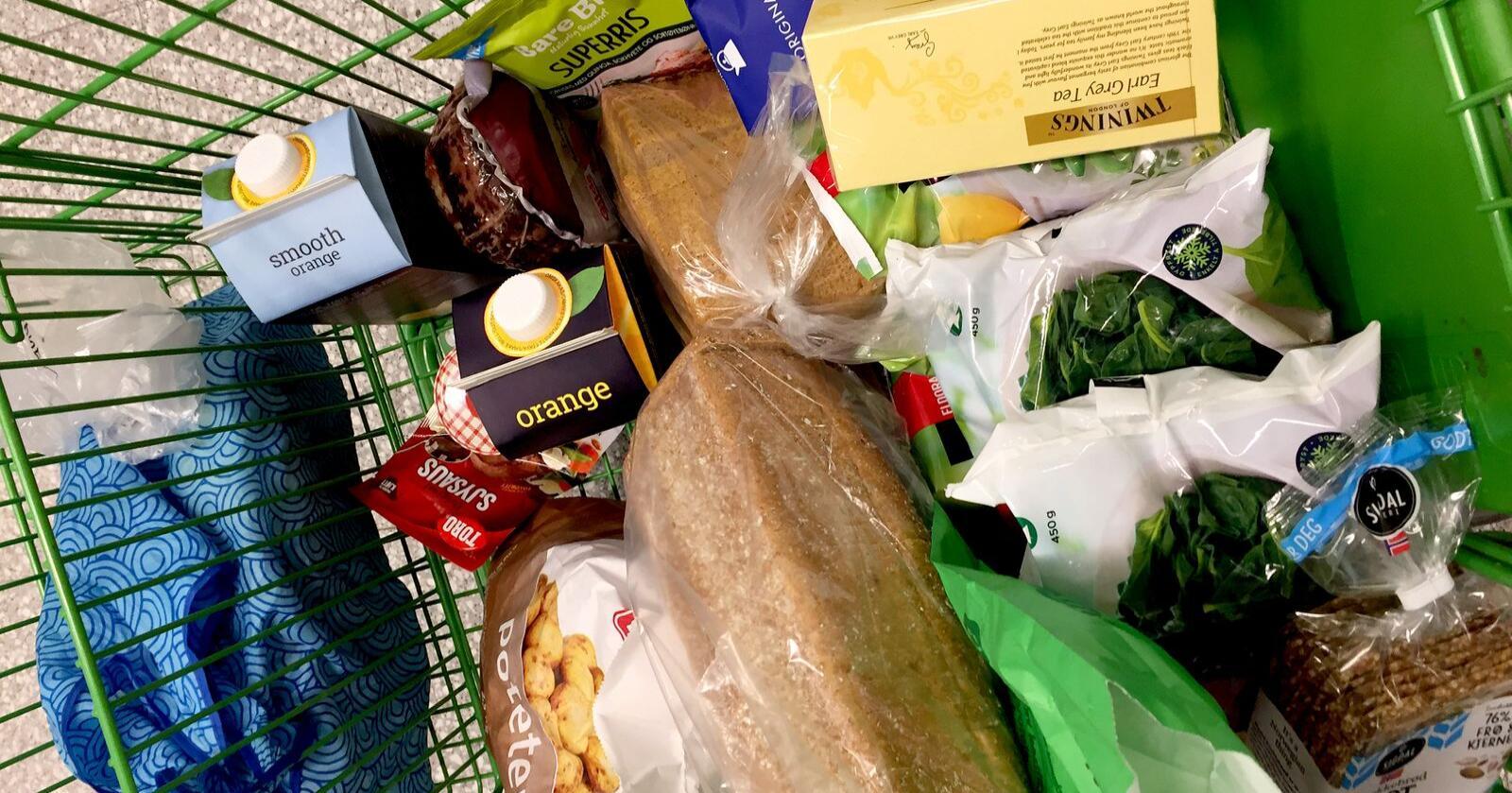 Hver husholdning har i snitt brukt 12.322 kroner mer i norske dagligvarebutikker i 2020. Særlig Norgesgruppen styrker sin dominerende posisjon. Foto: Mariann Tvete