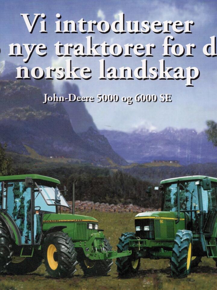 Felleskjøpet: FK er 100 år som traktorimportør. Veien fram til dagens John Deere forhandlerstatus, var lang.