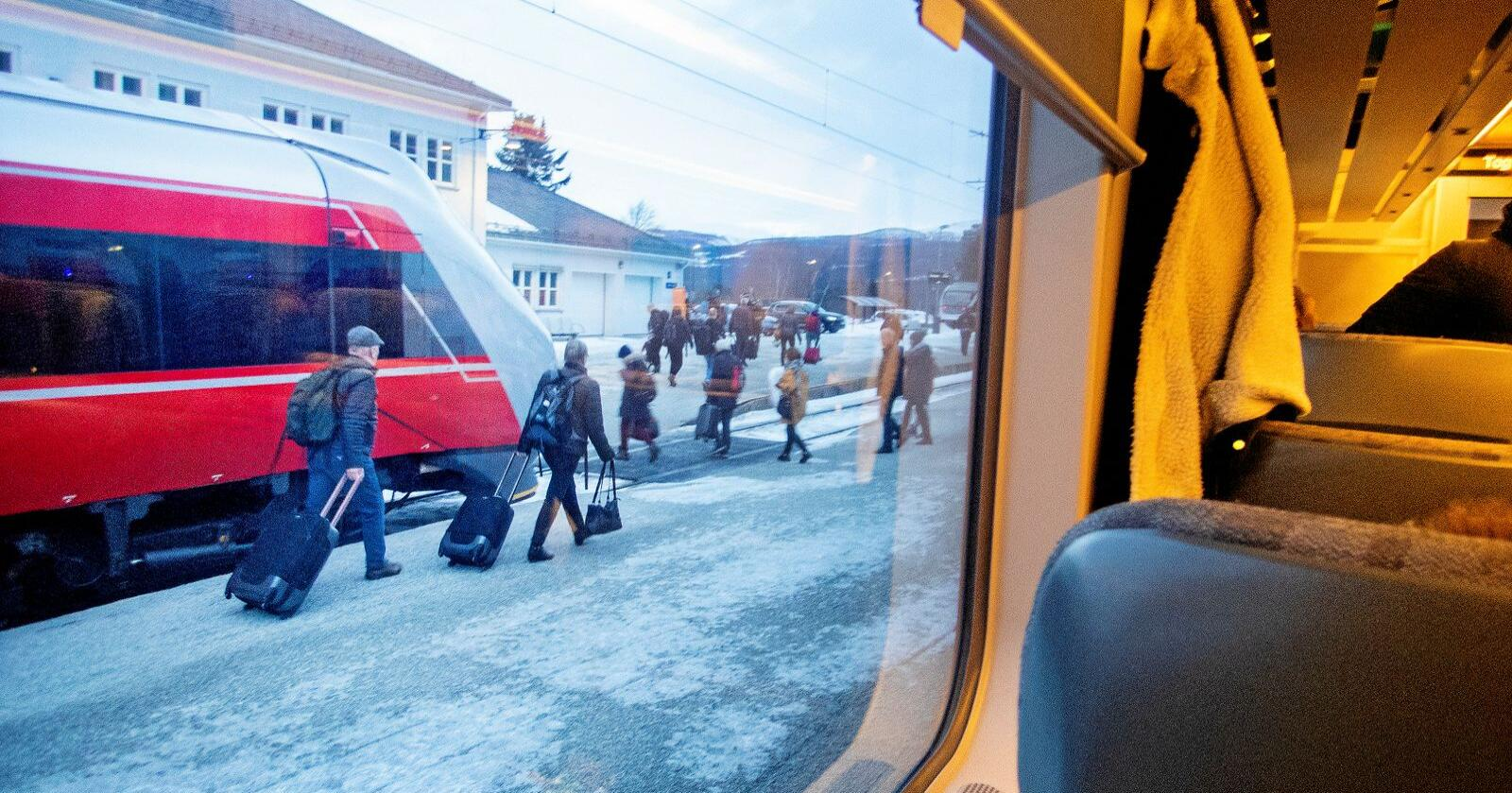 Jernbare: Regjeringen vil innføre EUs fjerde jernbanepakke i norsk rett. Foto: Gorm Kallestad / NTB scanpix
