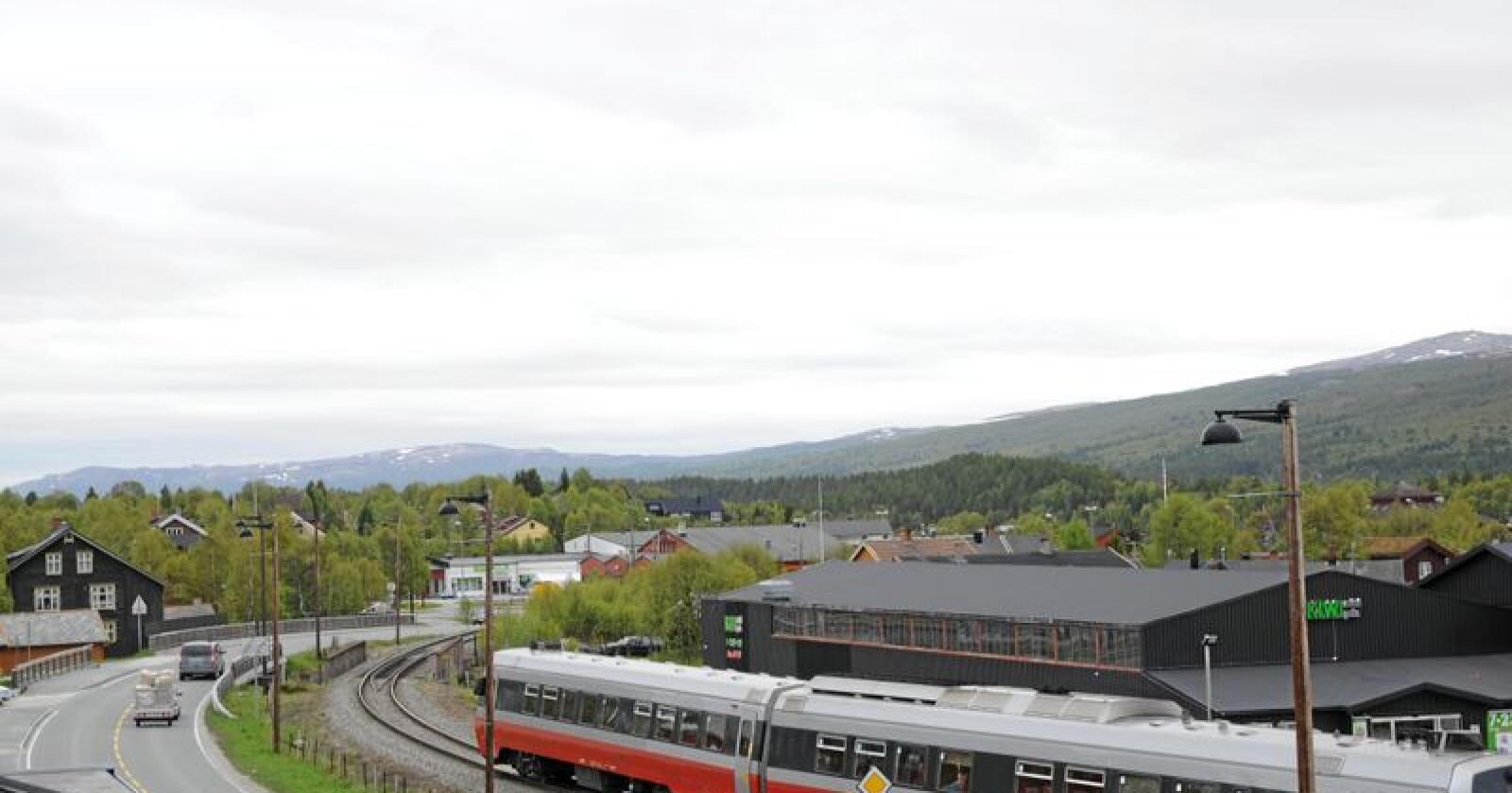 Røros stasjon. Foto: Mariann Tvete