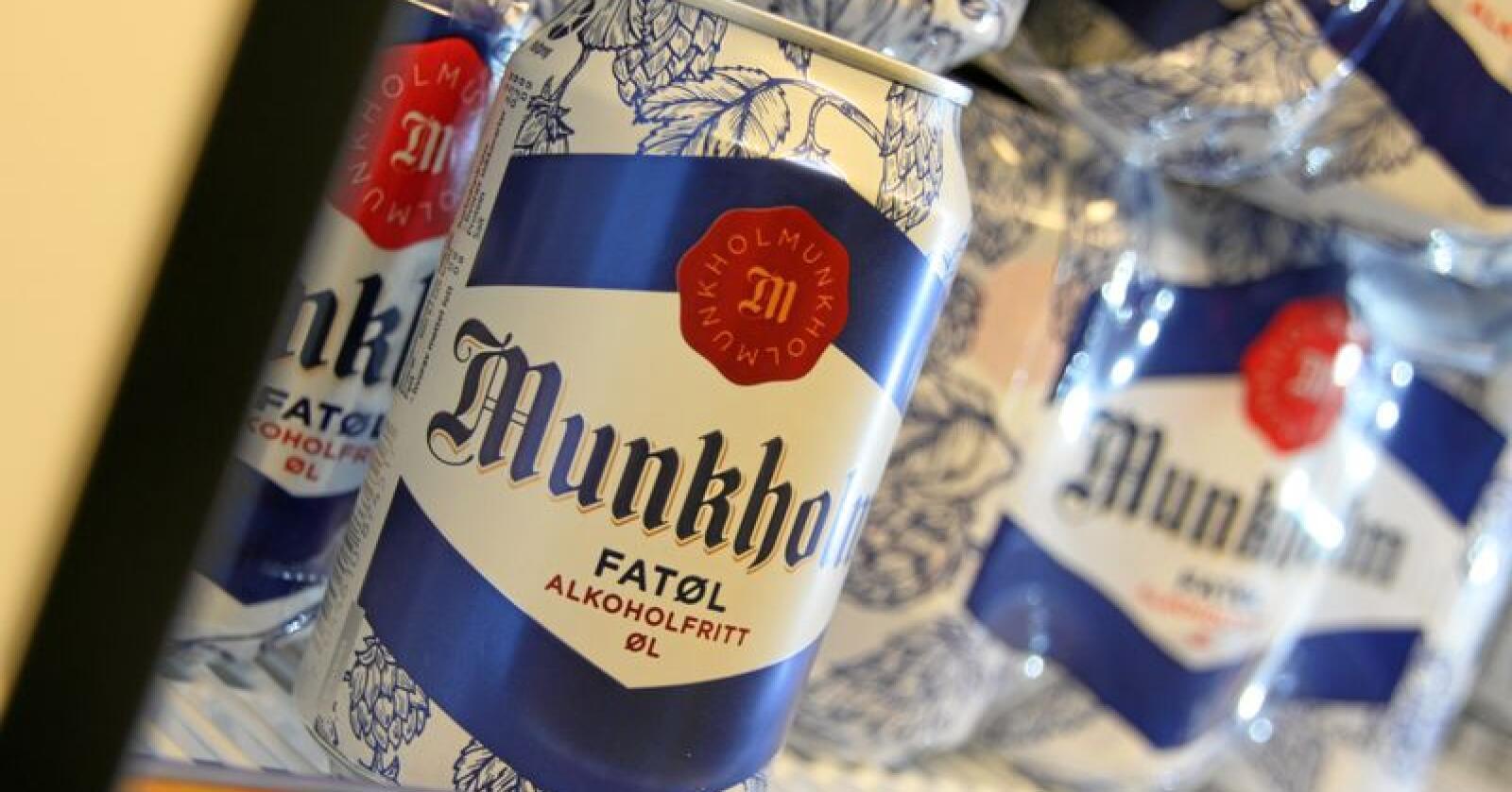 Flere nordmenn velger Munkholm og andre alkoholfrie alternativer. Foto: Lars Bilit Hagen
