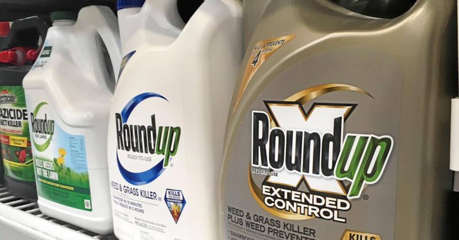 Bayer, eierne av Roundup, har tidligere blitt dømt i en lignende sak. Foto: AP Photo/Haven Daley, File