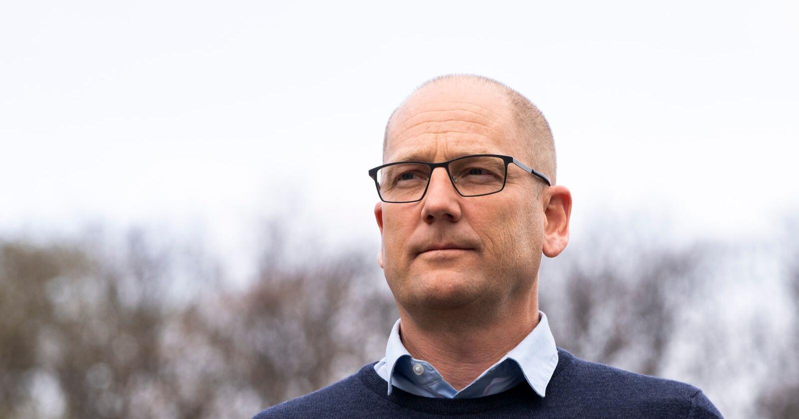 Tilbudet fra KS var ikke godt nok, slår Unios forhandlingsleder Steffen Handal, som blant annet representerer lærere og sykepleiere, fast. Fredag ble lønnsforhandlingene for kommunesektoren brutt. Foto: Terje Pedersen / NTB