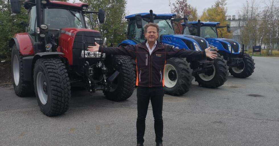 Administrerende direktør i A-K maskiner, Erik Grefberg, er fornøyd med A-K's fremgang, og mener det hele er et resualtet av en bedra, internt kultur i bedriften og et modellutvalg som appelerer til traktorkunden.