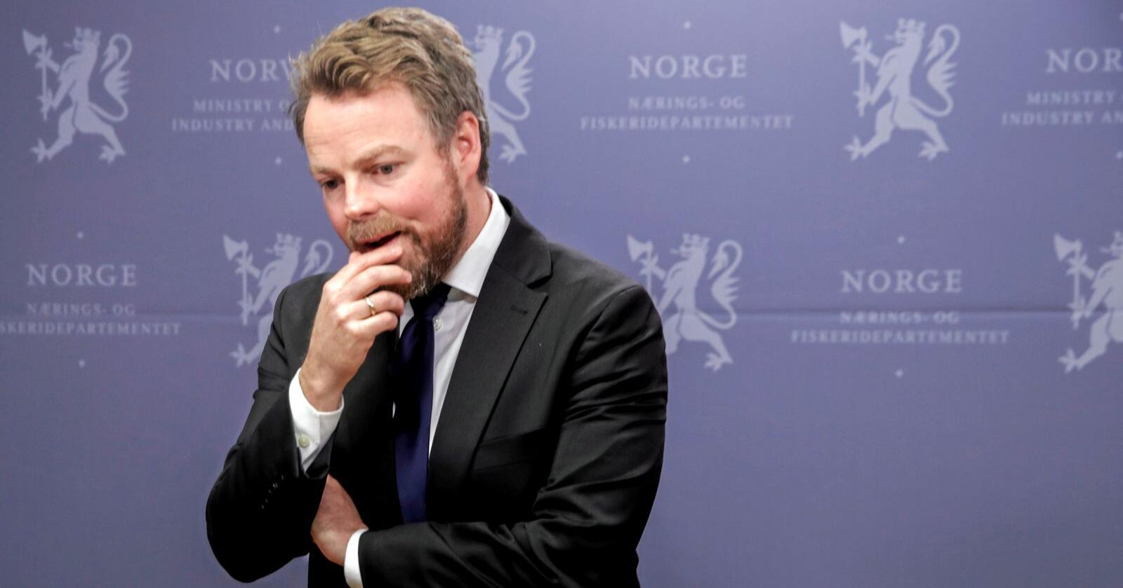 Næringsminister Torbjørn Røe Isaksen. Foto: Vidar Ruud / NTB scanpix