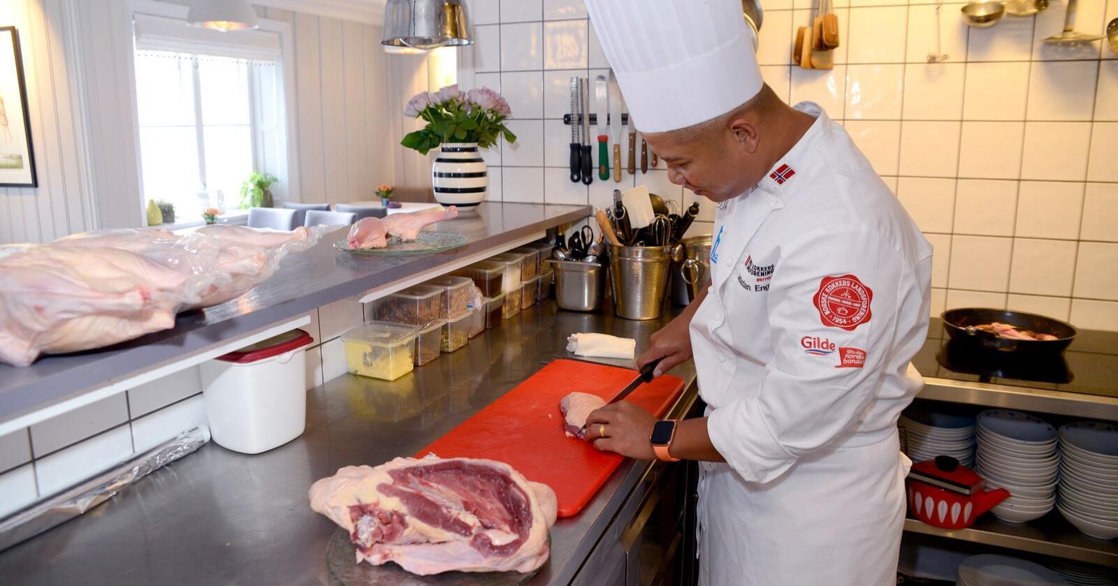 Norge har et mål om å bli en matnasjon innen 2030, og regjeringa ønsker å lage en strategi for å nå dette. Foto: Mariann Tvete