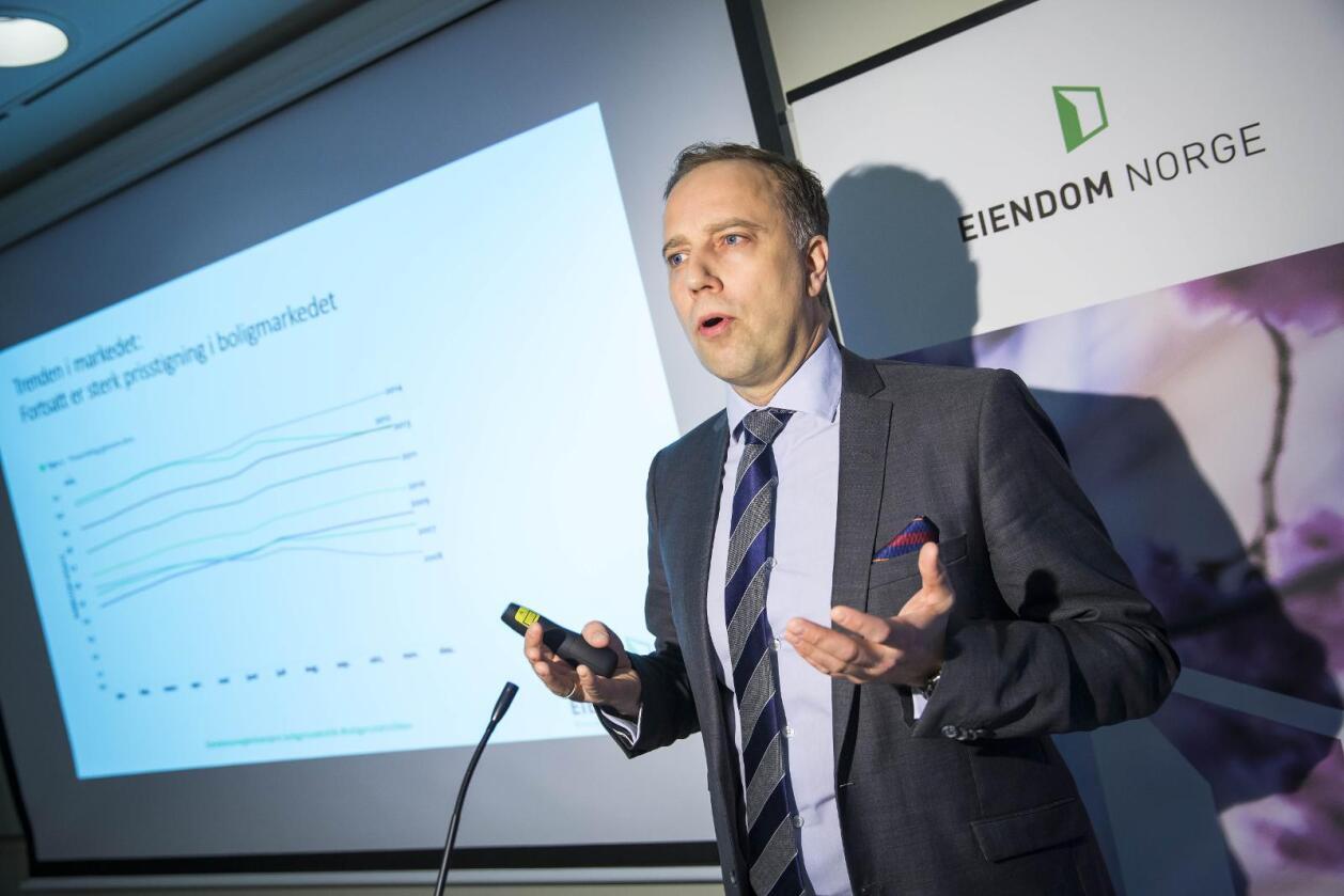 Investeringsviljen henger også tett sammen med leiemarkedet, det gjør det lettere å invistere i byene, påpeker Christian Vammervold Dreyer, administrerende direktør i Eiendom Norge