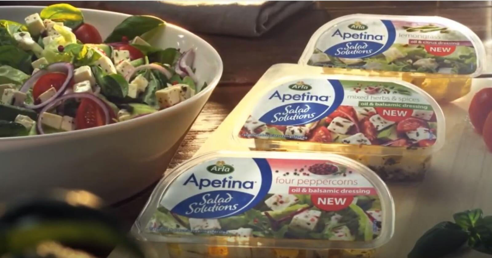 FETA: Arla sin fetaost er en av ostetypene som øker i popularitet. Foto: Skjermdump
