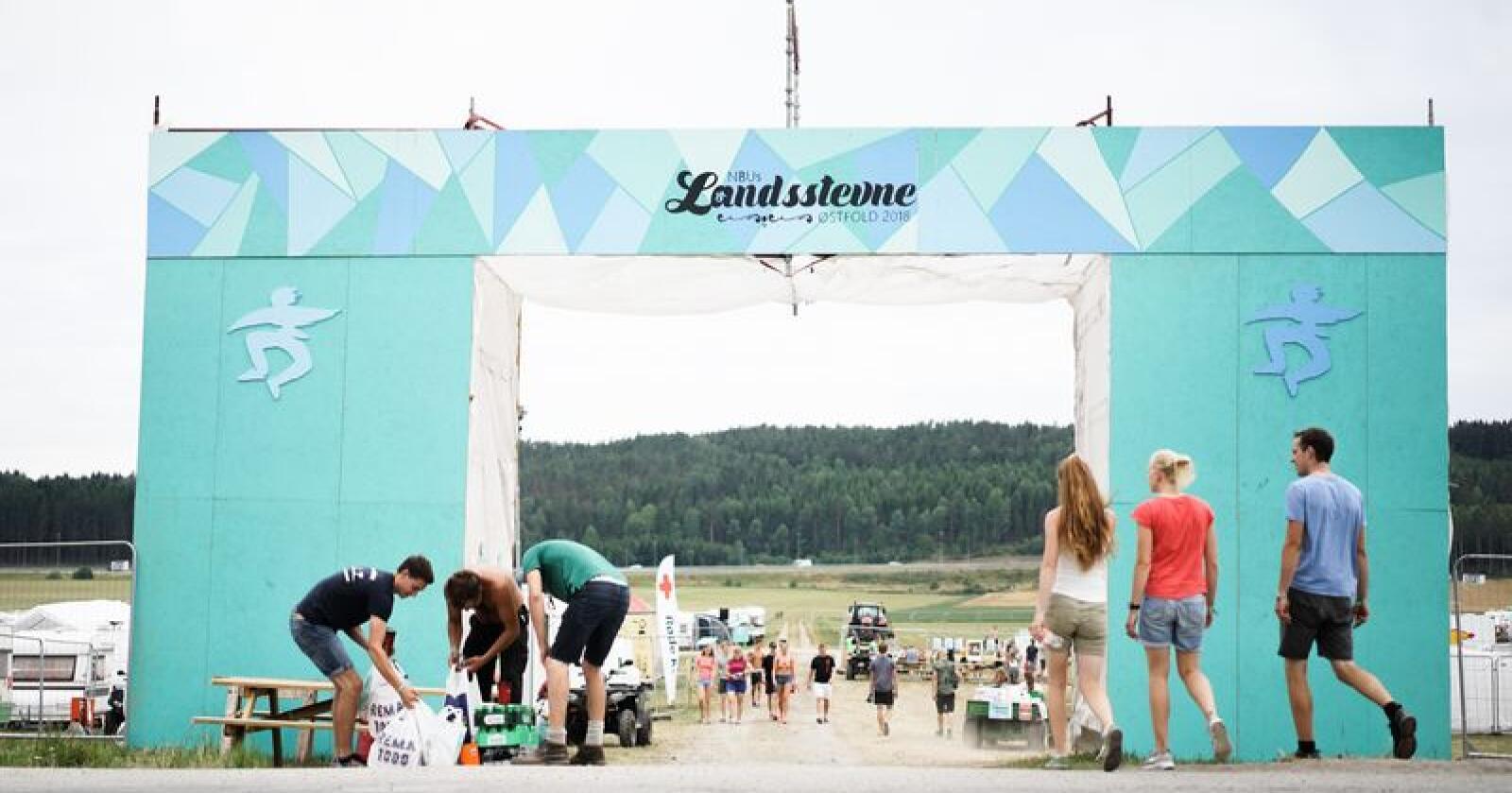 Landsstevne 2018 for Norges Bygdeungdomslag i Kalnes i Østfold. Alle foto: Benjamin Hernes Vogl