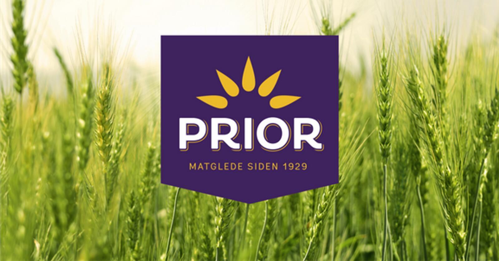 Slik ser den nye logoen til Prior ut. Foto: Nortura