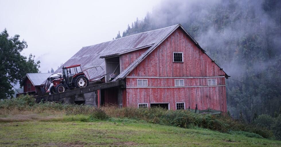 Antallet gårdsbruk i Norge er mer en halvert på 50 år. Illustrasjonsfoto: Benjamin Hernes Vogl