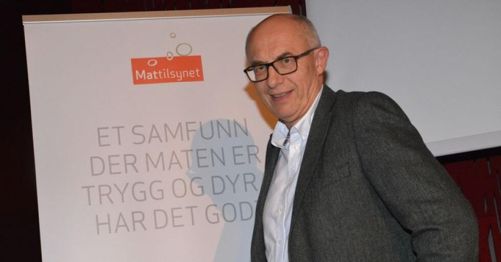 – Vi kan aldri gardere oss mot hvordan et vedtak blir oppfattet, sier adm. dir. Harald Gjein i Mattilsynet. Foto: Anders Sandbu