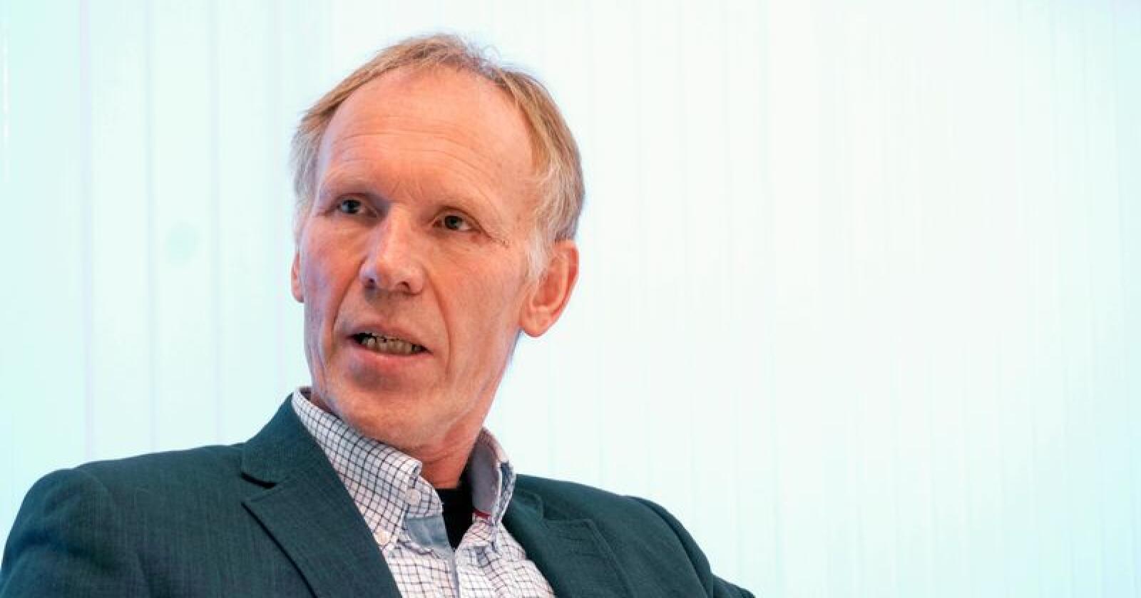 Bertran T. Skadsem, styreleder i Norges Pelsdyralslag