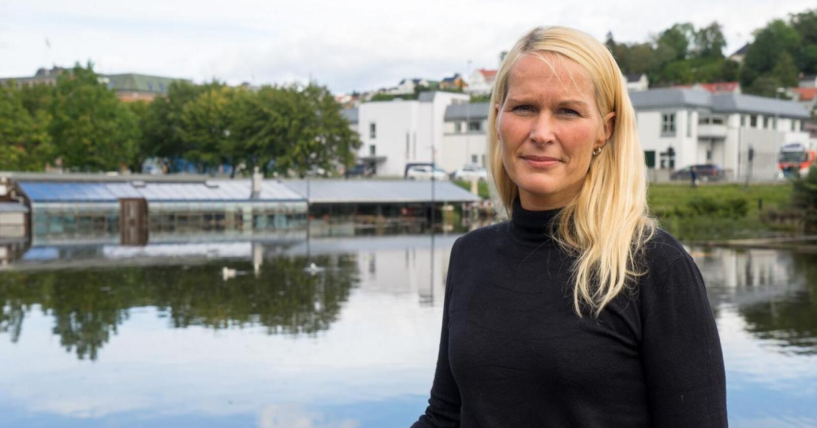 """Ap-ordfører Hedda Foss Five er """"livredd"""" for at regjeringens rusreformen senker terskelen for at unge tør å teste ute og oppbevare tunge, narkotika stoffer. Foto: Jill Johannessen"""