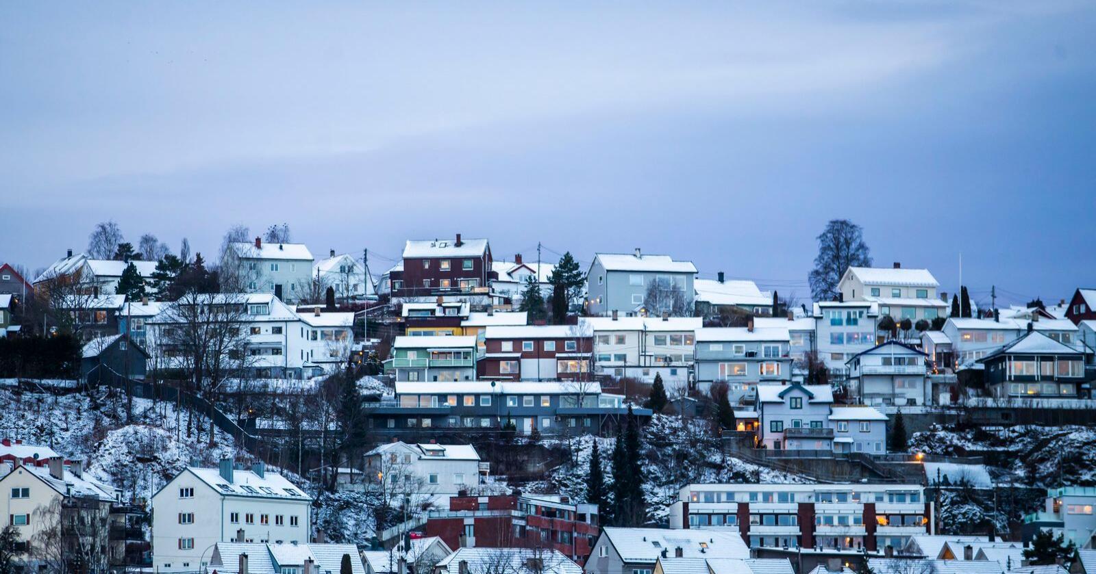 Totalt 242 kommuner i Norge har eiendomsskatt på boliger i 2020. Illustrasjonsfoto: Håkon Mosvold Larsen / NTB scanpix