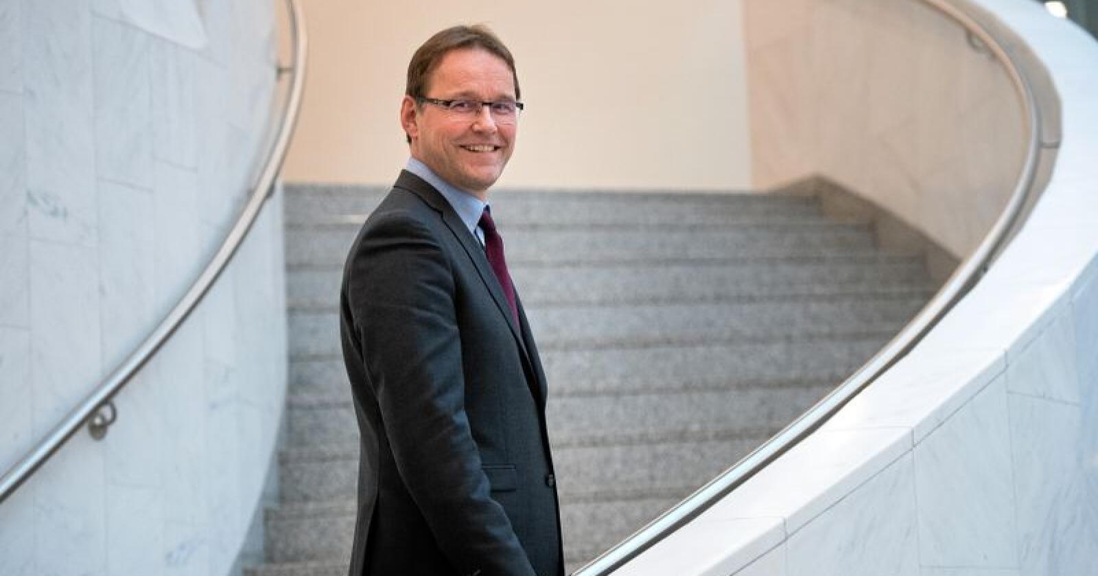 Statssekretær Widar Skogan er selv bonde i Balsfjord kommune i Troms. Foto: Torbjørn Tandberg