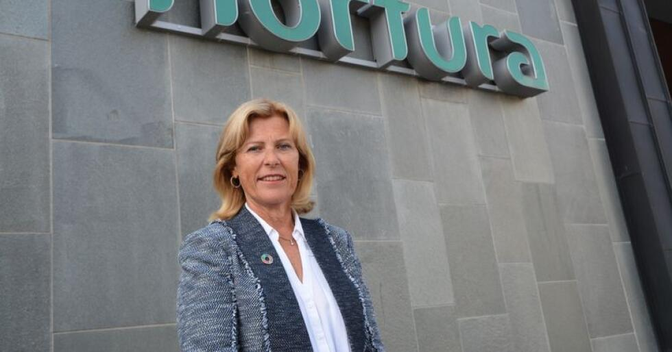 Tilfreds: – Vi skal fortsatt jakte forbedringer der det er mulig, men også fortsette å kjempe for høyere markedsandeler, sier konsernsjef i Nortura, Anne Marit Panengstuen. (Foto: Anders Sandbu)