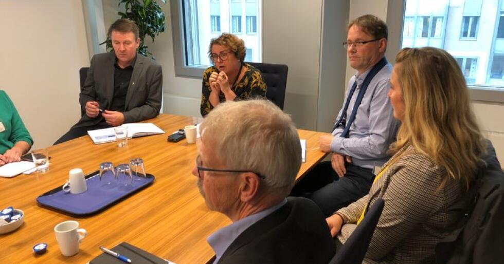 På dagens møte ble det presentert tall som viser økende oppslutning om svinebransjens dyrevelferdsprogram. Programmet ble innført høsten 2018.  Foto: Karl Erik Berge