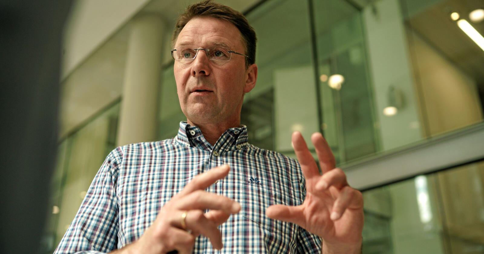 Lars Petter Bartnes, leder i Norges Bondelaget. Foto: Ketil Blom Haugstulen