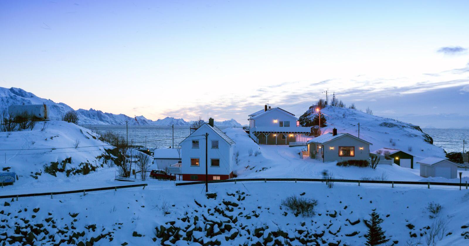 For 15. år på rad kåres Norge til verdens beste land å bo i av FN. Her fra Lofoten. Foto: Mostphotos
