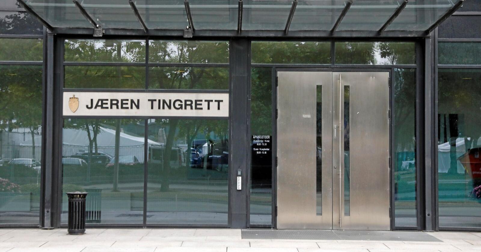 En tidligere pelsdyrbonde er dømt til seks måneders fengse ved Jæren tingrett. Foto: Ole Berg-Rusten / NTB scanpix