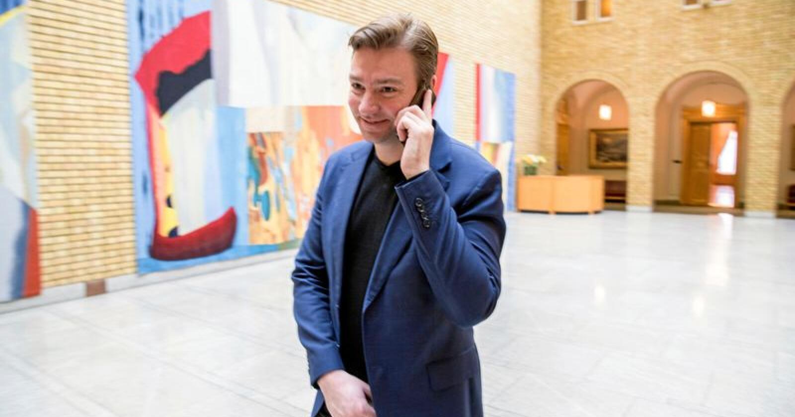 Skatt: Høyres Henrik Asheim er opptatt av at skattesystemet skal ha legitimitet. Men da må også de med de store formuene bidra. Foto: Vidar Ruud/NTB scanpix