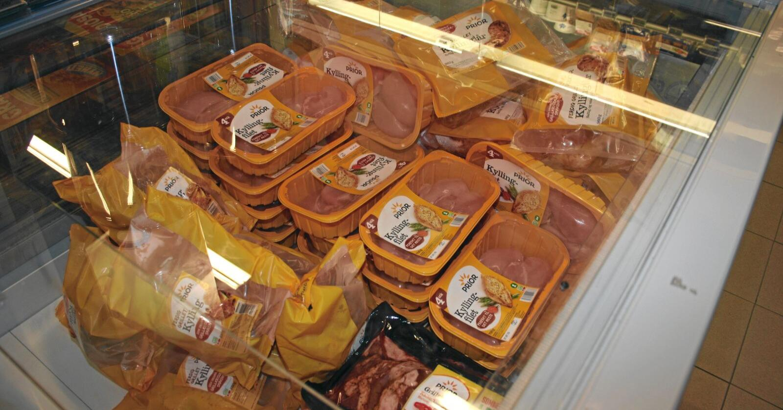 Avtale: Nortura har inngått ein ny avtale med Norgesgruppen som kan gi stor vekst i salet av kylling og kalkun, melder Nortura. Foto: Bjarne Bekkeheien Aase