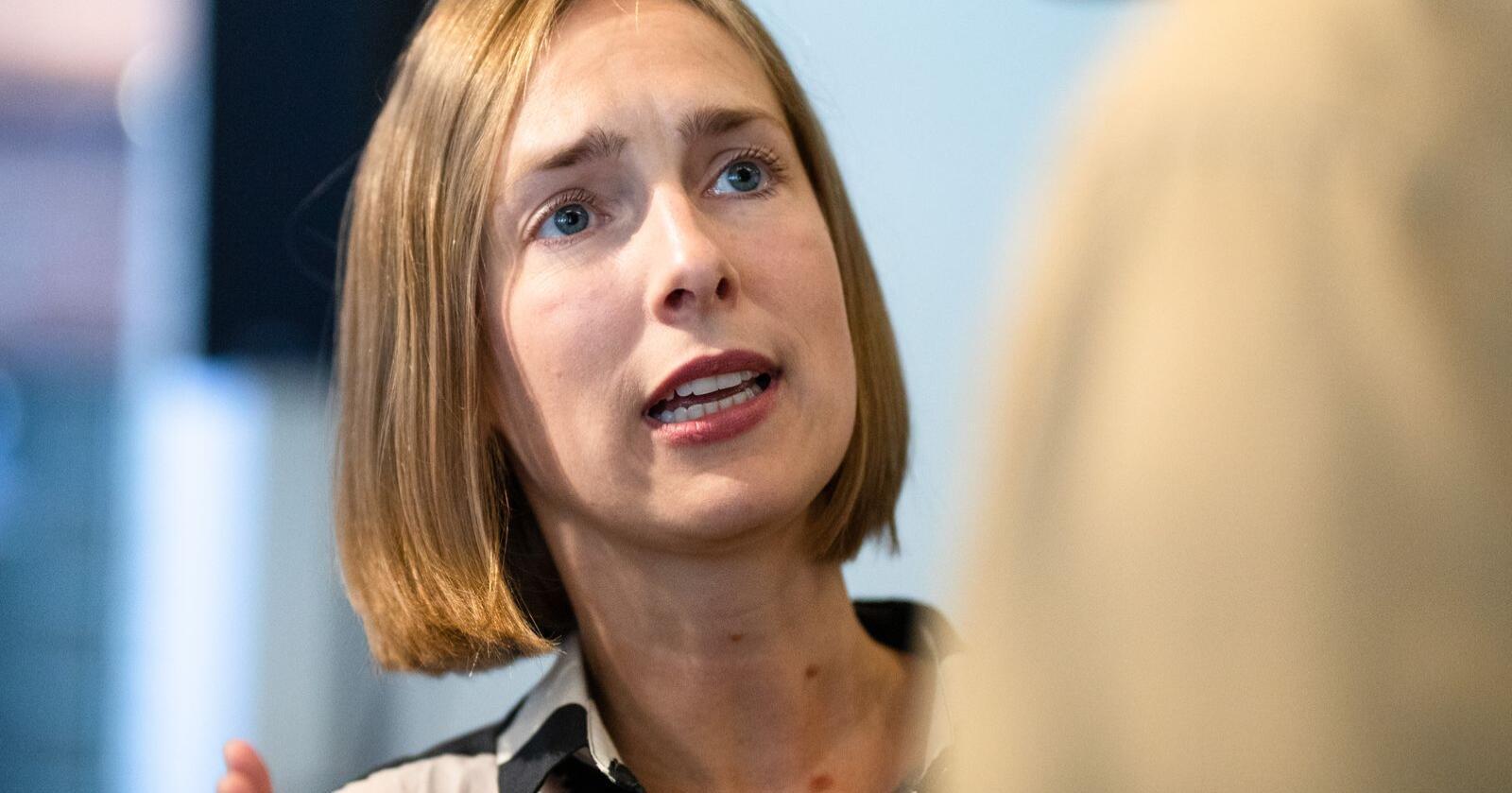 Forsknings- og høyere utdanningsminister Iselin Nybø (V). Foto: Audun Braastad / NTB scanpix