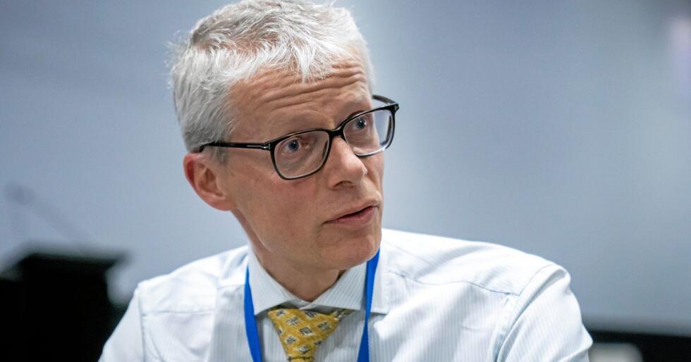 Beklager: Skattedirektør Hans Christian Holte beklager overfor de som er rammet av feilen. Foto: Heiko Junge / NTB scanpix