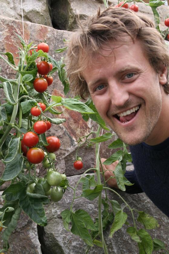 Bybonden: Andreas Capjon starter 1. april som økologisk bonde på Losætra i Bjørvika i Oslo. (Foto: Sonja Silvana Lubiana)