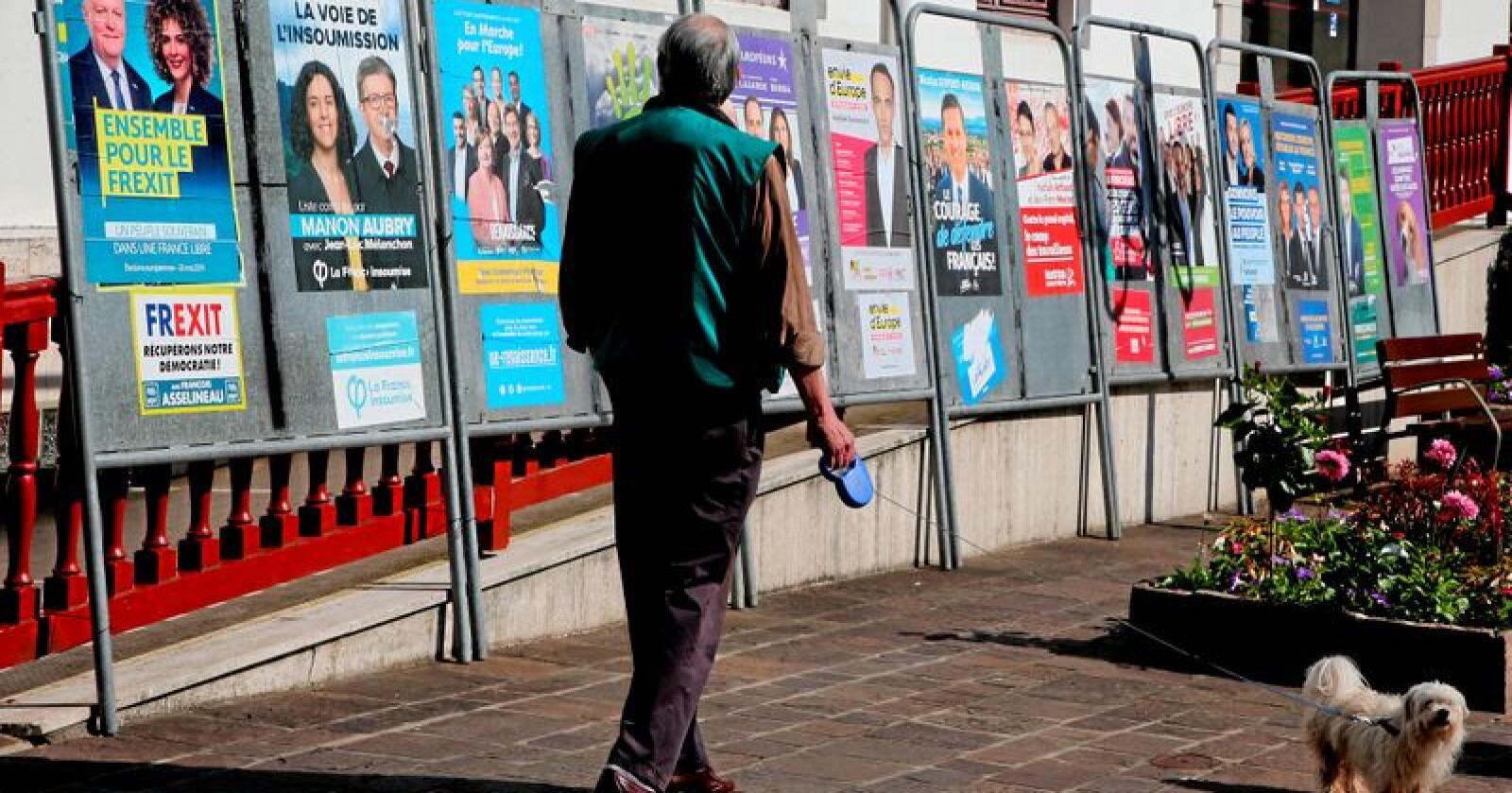 Laber interesse: Valgdeltakelsen har gått ned ved hvert eneste EU-valg. Foto: Bob Edme/AP/NTB scanpix