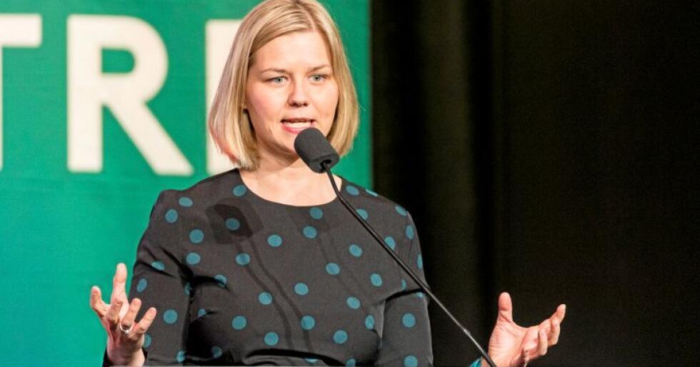 Fikk kjeft: Venstre-politiker Guri Melby har fått mye kjeft etter at hun foreslo at bønder i Norge kan dyrke hamp. Foto: Ned Alley / NTB scanpix