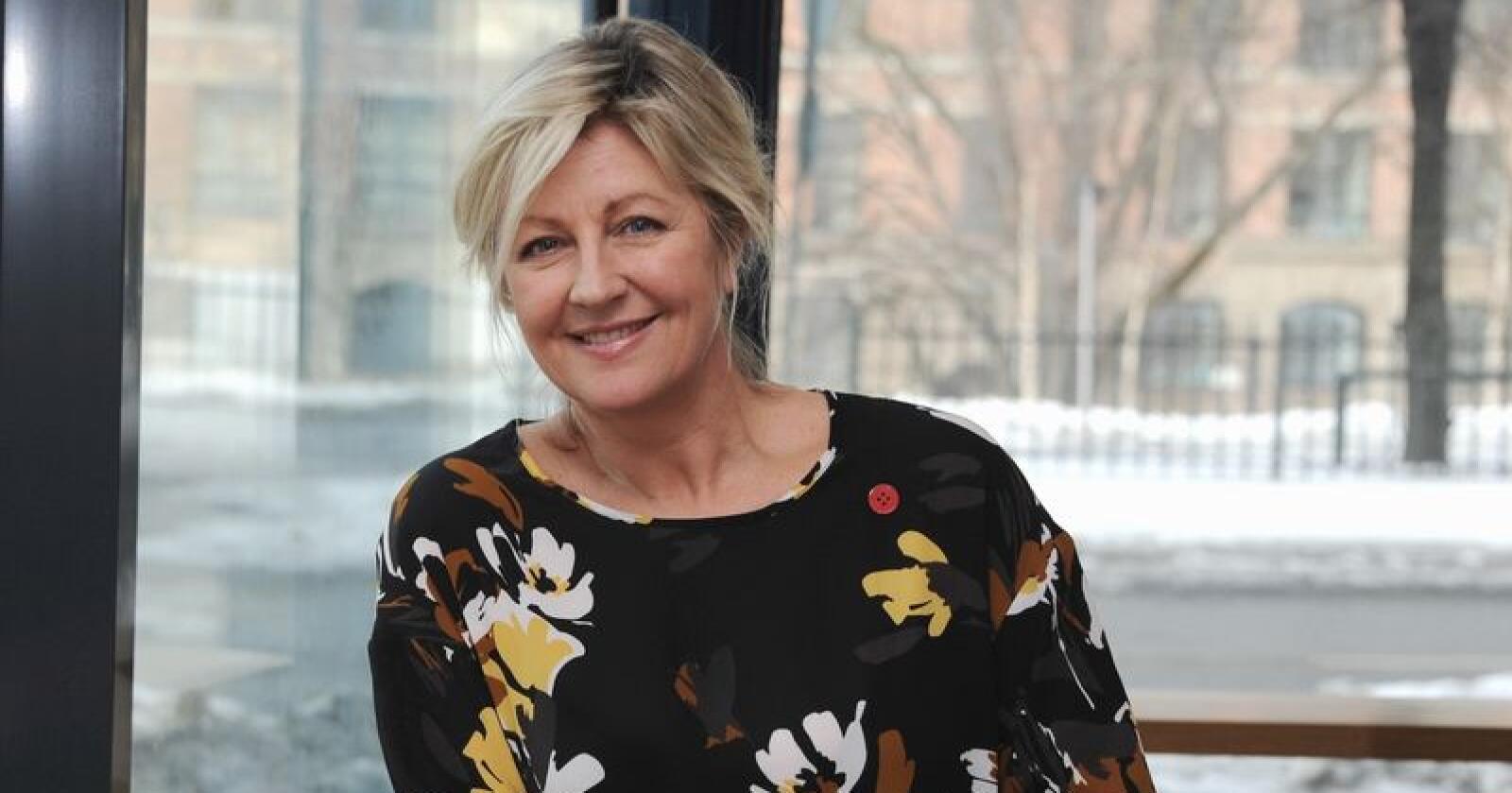 Monica A. Paulsen er forbundsleder i Negotia.  (Foto: Terje Bergersen)