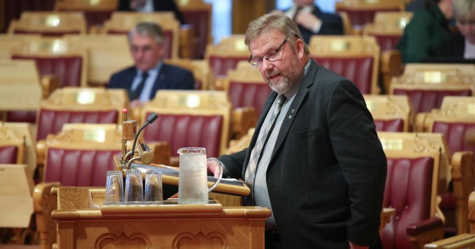 Stortingsrepresentant Bengt Fasteraune (Sp). Foto: Vidar Ruud / NTB scanpix