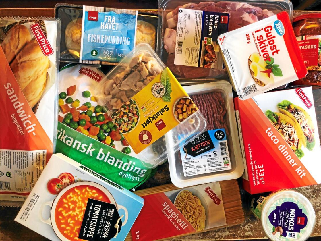Kjedenes egne merkevarer har tatt over mer og mer av salget, og var i september på 44 prosent på utvalgte matvaregrupper. Foto: Lars Johan Wiker