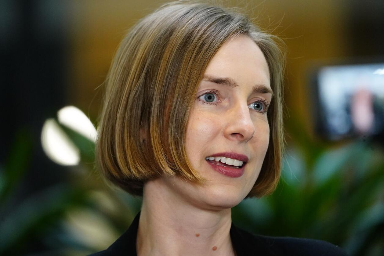 Næringsminister Iselin Nybø (V) mener det er for tidlig å bedømme om koronastøtten har vært en suksess.Foto: Lise Åserud / NTB