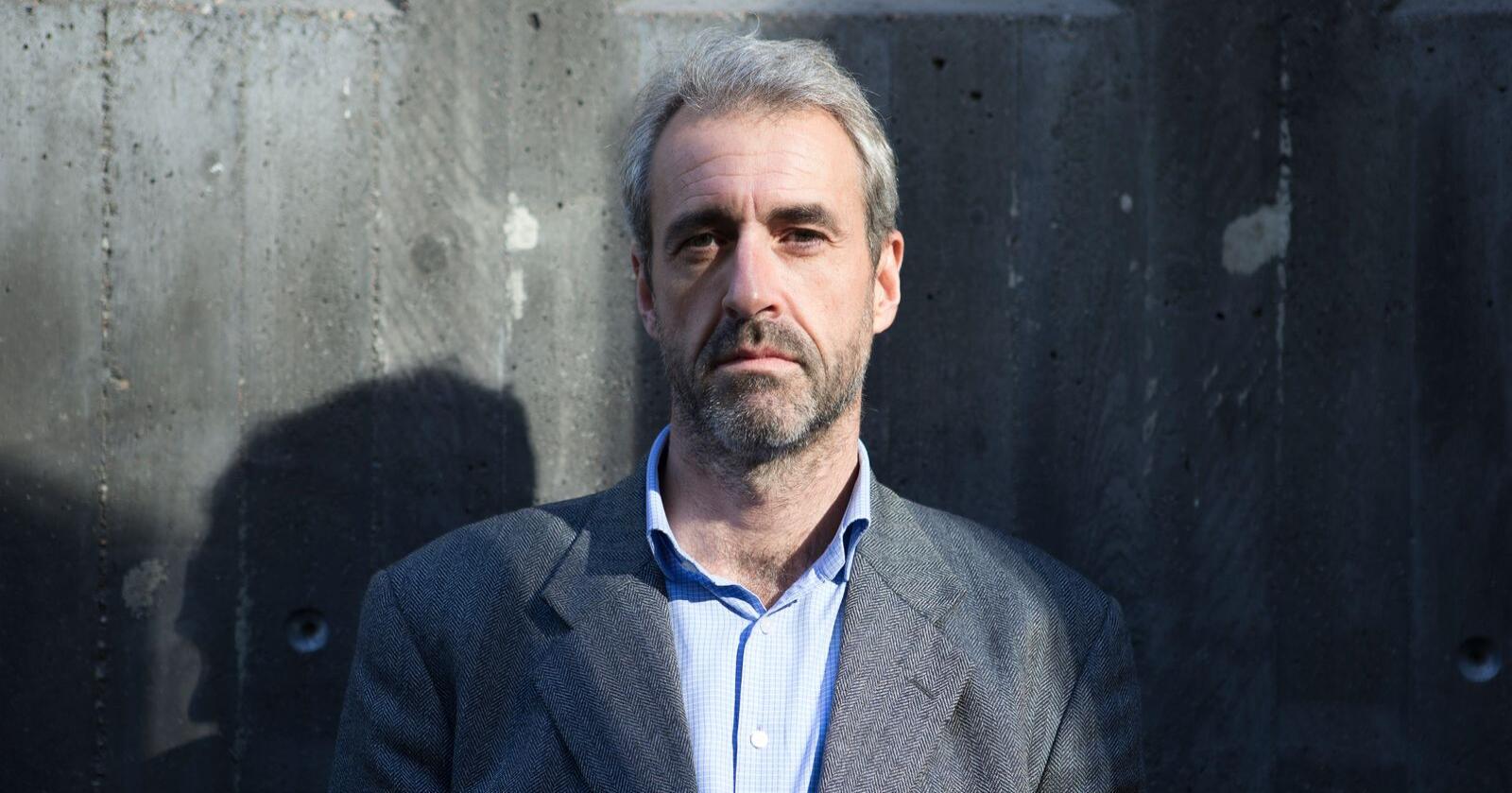 Olaf Thommessen frykter at det kommer et ras av konkurser hos små og mellomstore bedrifter i kjølvannet av koronakrisen. Foto: Torstein Bøe / NTB scanpix