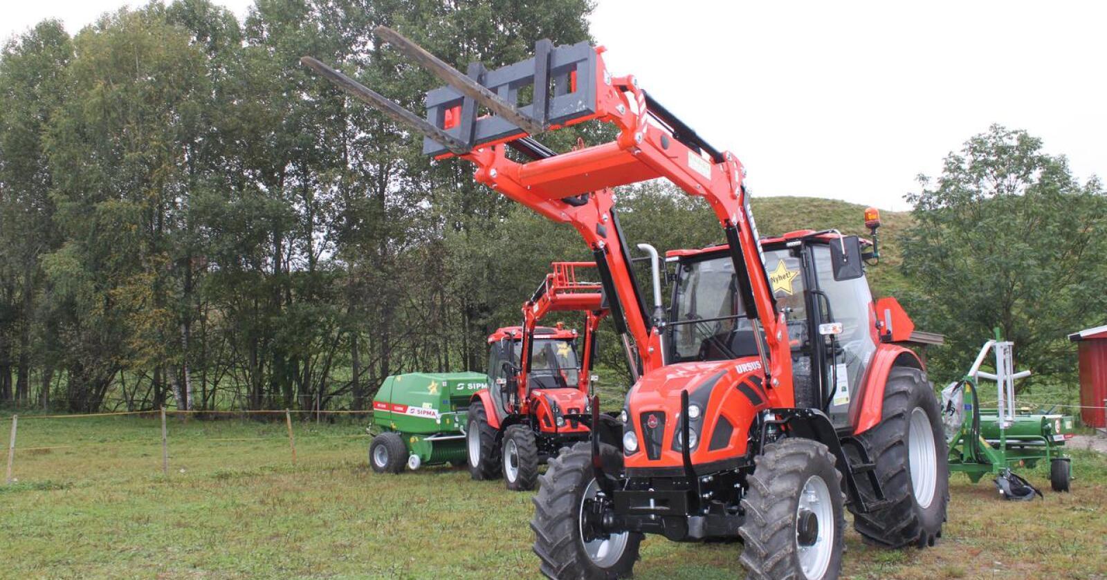 Ursus hadde sin storhetstid her i landet på -80 tallet. Merket var kjent for store, kraftige, enkle og ganske rimelige traktorer som var solide.