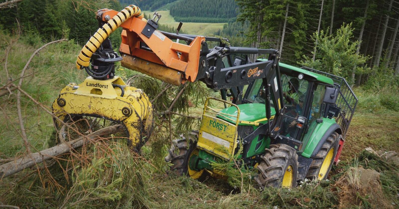 Oppgradert: dekkprodusenten Nokian fra Finland, oppgraderer skogsdekket sitt. Dekket får samtidig et nytt navn.