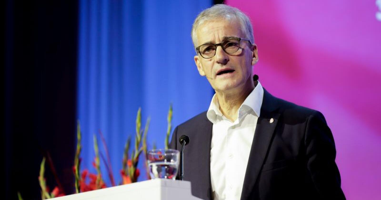 Ap-leder Jonas Gahr Støre har en formue på 61 millioner kroner, ifølge skattelistene. Foto: Vidar Ruud / NTB scanpix.