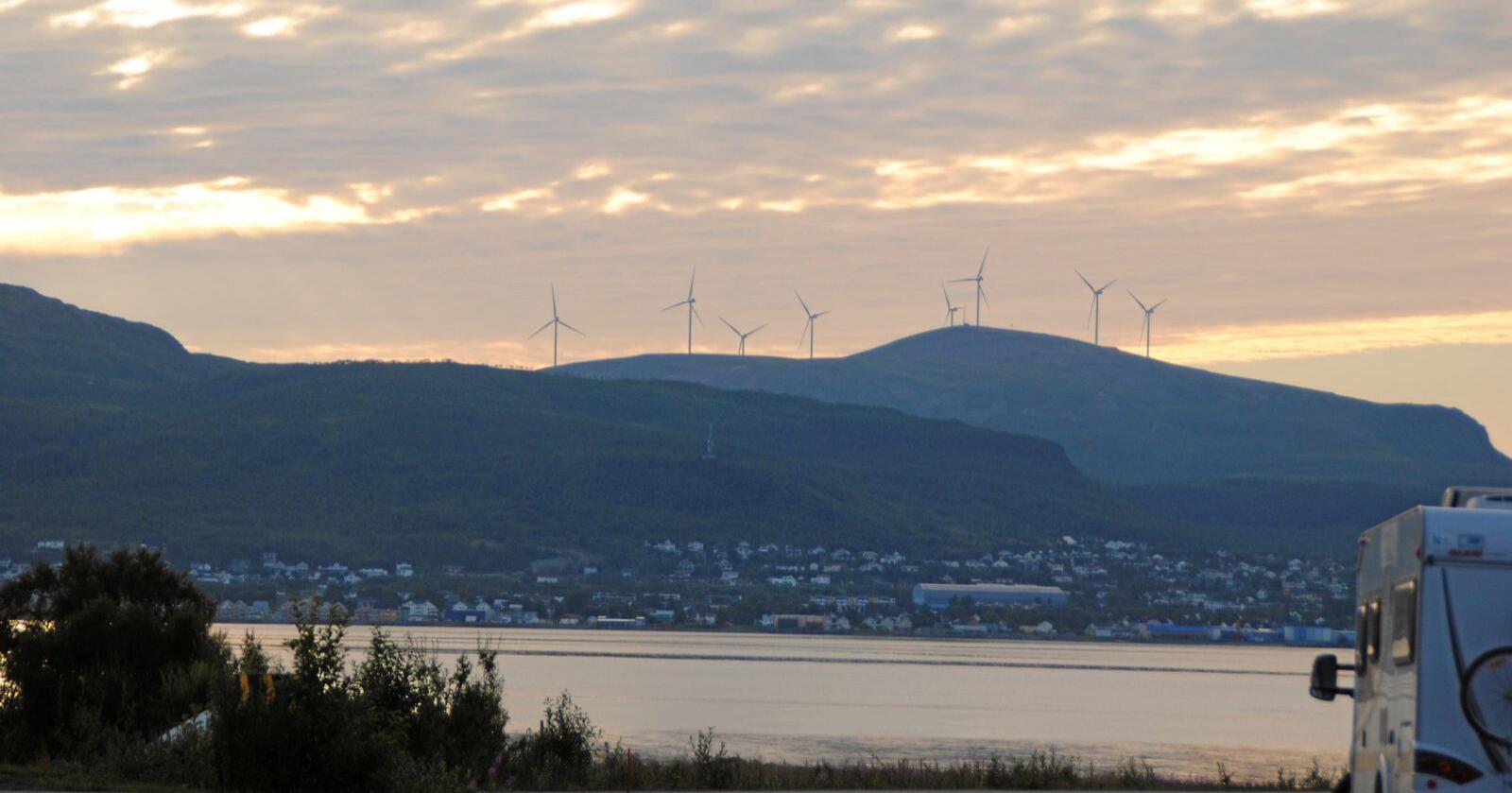 Norges Televisjon (NTV) fortviler over å ikke bli lyttet til i vindkraftsaker. Illustrasjonsfoto: Lars Bilit Hagen