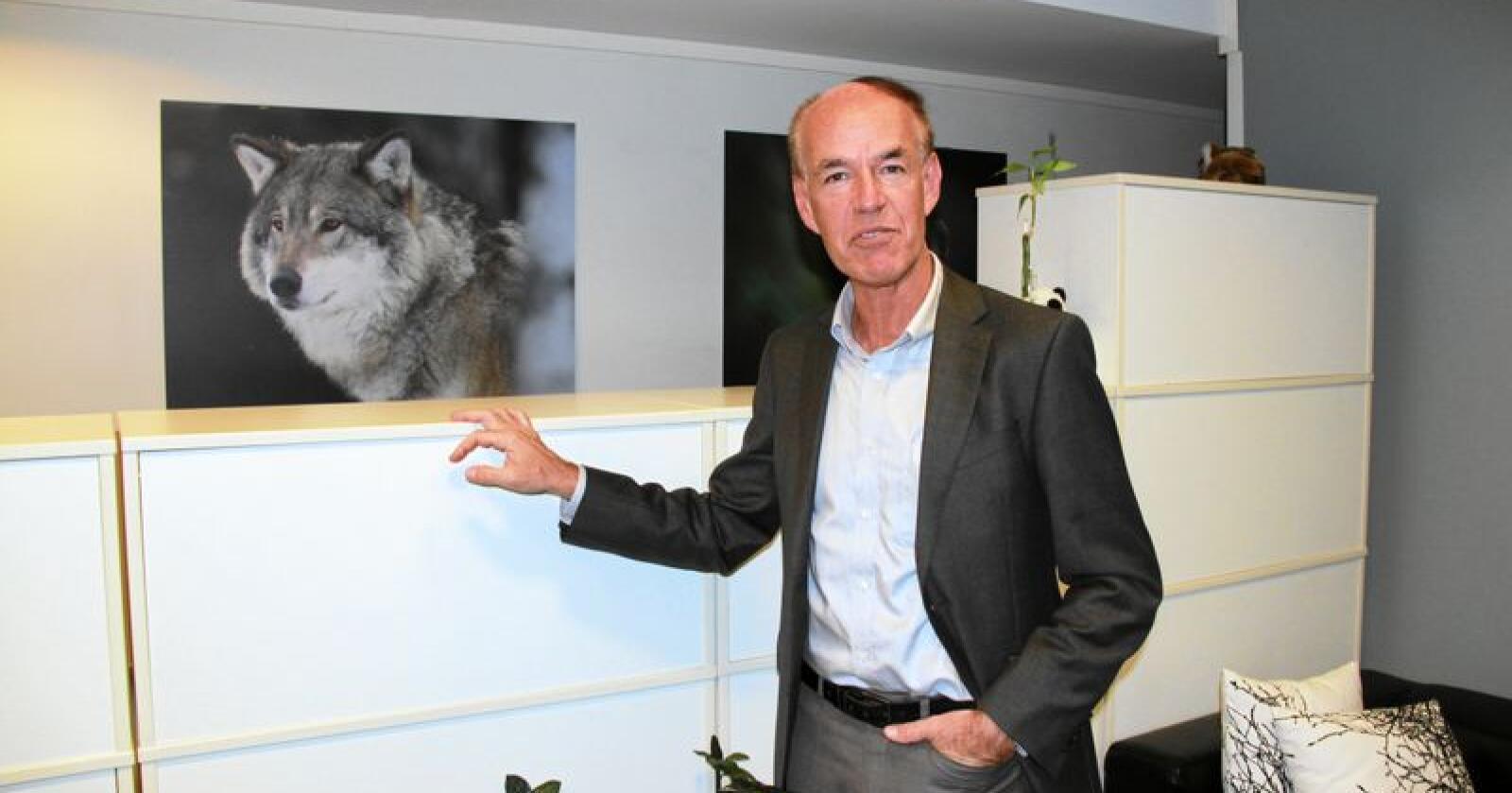 Italieneren Marco Lambertini er  internasjonal leder WWF. Foto: Svein Egil Hatlevik