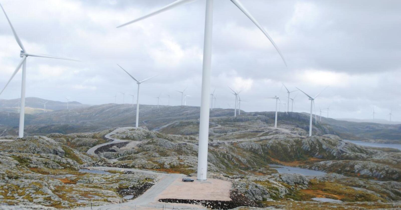 Fornybart: Ny energi må styres - og fordeles, skriver kronikøren. Foto: Lars Bilit Hagen