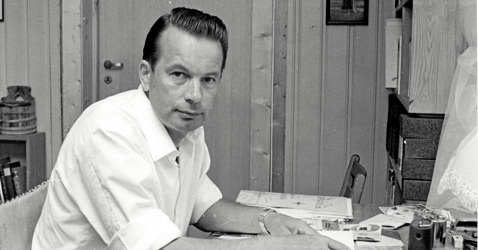 Til minne: Bjørn Unneberg (1928-2020). Foto: Senterpartiet