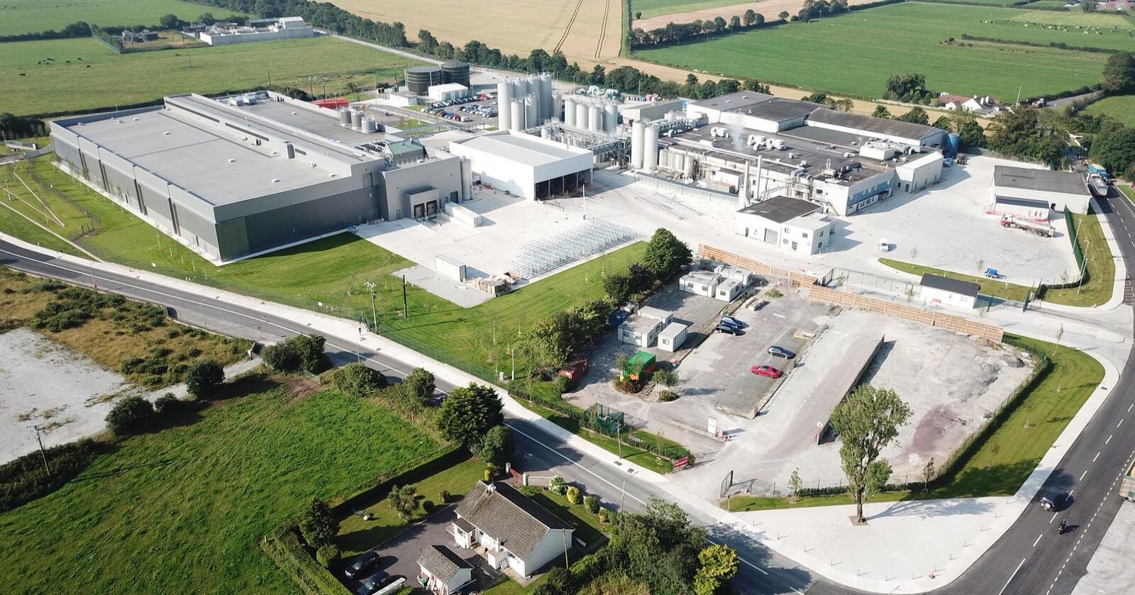Ventetiden over: Tines nye fabrikk i Mogeely i Cork i Irland har fått utslippstillatelse. (Foto: Tine)