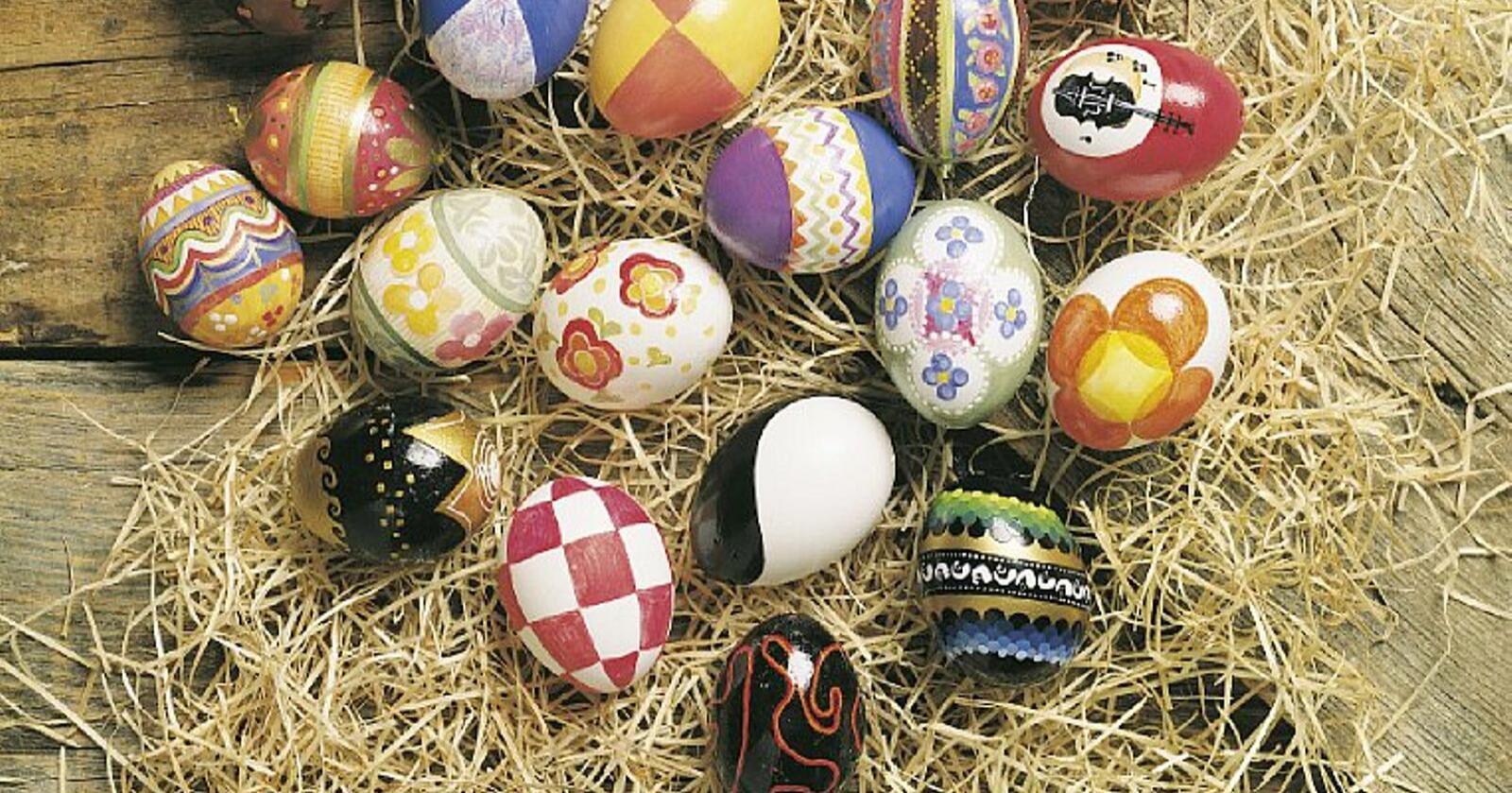 Årets påske blir spesiell på mange måter, men Nortura garanterer at det i hvert fall ikke skal stå på egg-leveransen i høytiden. Foto: Alf Börjesson